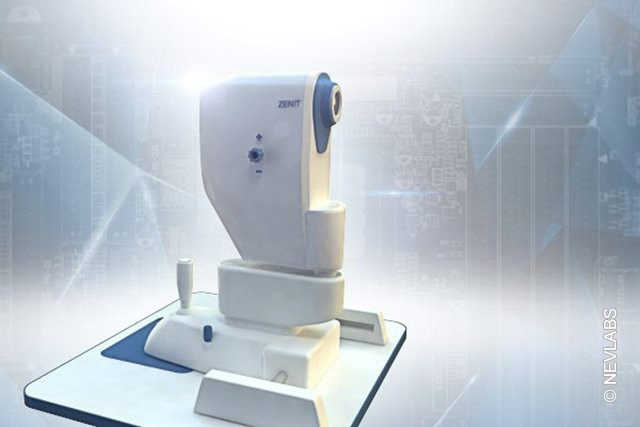 Appearance of Zenit optical tomography scanner title